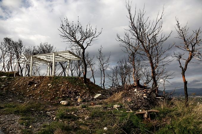 καμένων σπιτιών στην Ανατολική Αττική, μάτι αττικής
